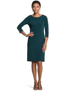 Chico's Travelers Classic Zip-Sleeve Dress #chicossweeps - or this one