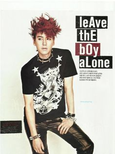 Super Junior's Kyuhyun transforms into a Rocker for NYLON