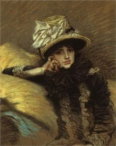 Painting by James Jacques Joseph Tissot