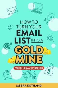 😩Does email marketing confuse the heck out of you? If you don't think you could ever turn it into a sales & subscriber generation machine, you're wrong! Sign-up with your email for my NEW Masterclass to discover how sales, subscribers & passive income can be on your radar! Tips, strategy and more for beginners to advanced - bloggers to business owners! Email Marketing Strategy, Affiliate Marketing, Newsletter Design Templates, Experiment, Email Campaign, Thing 1, Free Training, Email List, Earn Money Online