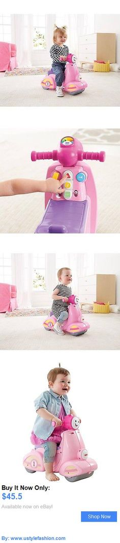 Developmental Baby Toys: Fisher-Price Laugh And Learn Smart Stages Scooter Pink BUY IT NOW ONLY: $45.5 #ustylefashionDevelopmentalBabyToys OR #ustylefashion Baby Girl Toys, Toys For Girls, Fisher Price, Learning, Pink, Girls Toys, Studying, Teaching, Pink Hair
