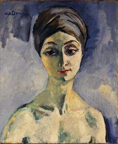Kees van Dongen (Dutch, 1877-1968), Maria Lani, 1928. Oil on canvas