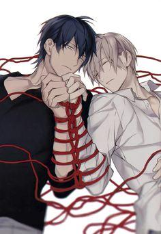 Kurose & Shirotani   Ten Count   Yaoi   Love this manga <3