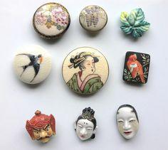 Satsuma & Arita Buttons