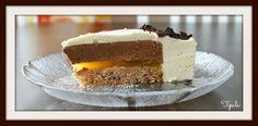 Tipulassa: Suklaa-appelsiinijuustokakku Cheesecake, Desserts, Food, Tailgate Desserts, Deserts, Cheese Cakes, Eten, Postres, Dessert