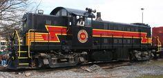Catskill Mountain Railroad  401Alco RS-1#77070Built 3/1950Ex-Green Mountain 401 < GM&O 1052 < IT 1056 < nee Illinois Terminal 756
