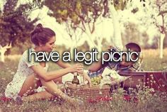 Have a legit picnic. Fall picnic with fire pit - going on my bucket list. Paar Bucket Listen, Best Friend Bucket List, Bucket List Life, Summer Bucket List Teens, Bucket List For Couples, Couple Goals Bucket Lists, Teen Bucket List, Travel Bucket Lists, Life List