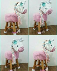 9 Tips for knitting – By Zazok Crochet Unicorn, Crochet Baby, Knit Crochet, Crochet Dolls Free Patterns, Crochet Beanie Pattern, Stool Cover Crochet, Manta Animal, Crochet Cross, Baby Kind