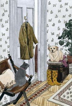 House Pets Art Print