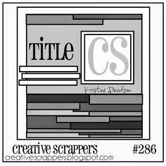 Creative Scrappers: CS Sketch 286 | Reveal