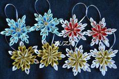 Wstążkowe śnieżynki / ribbon snowflakes