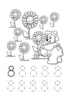 8 sayısı rakamı çalışma sayfası ve 8 rakamı yazma çalışmaları etkinlikleri oyunları, kağıdı indirme çıktı alıp yazdırma. Free numbers worksheets download and printable preschool kids.