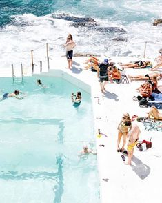 Everyone is Welcome - Bondi Icebergs Club Australia Tourism, Sydney Australia, Beach Aesthetic, Travel Aesthetic, Wallpaper Travel, Bondi Icebergs, Fraser Island, Holiday Places, Summertime Sadness