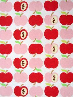Red Apples organic interlock