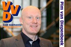 VVD Sint Anthonis. Lijst 3, Kandidaat 10: Pim van Diepenbeek.