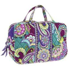 Cheap Vera Bradley Luggage - Grand Cosmetic (Heather) - Bags and Luggage price - Zappos is proud to offer the Vera Bradley Luggage - Grand Cosmetic (Heather) - Bags and Luggage: Stash your daily needs in this printed Vera Bradley cosmetic bag.
