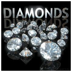 Criação e modelagem de Diamantes / Creation and modeling of Diamonds