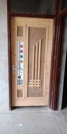 Front Door Design Wood, Wood Design, Pooja Room Door Design, Pooja Rooms, Room Doors, Home Decor Furniture, Bathroom Medicine Cabinet, Armoire, Doors