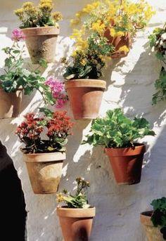 Faça um jardim vertical em casa
