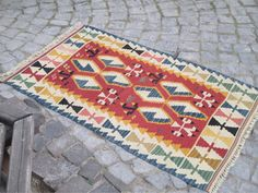 "50 % OFF! TURKISH KILIM, 141 x 80 cm ( 55 "" x 31.4 "" )"