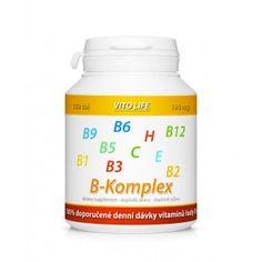 KOMPLETNÍ SORTIMENT - VITO LIFE - B-Komplex + vitamín C a E 100 tbl