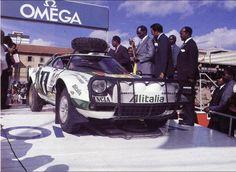 Safari 1976 - Munari Sandro - Maiga Silvio icon Lancia Stratos HF