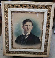 Possibly John Heil as a boy? Found in attic at homestead