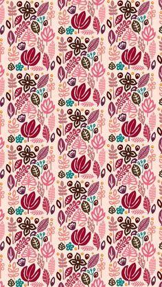 Wallpaper iPhone Iphone 6 Wallpaper, Flower Wallpaper, Wallpaper Backgrounds, Holiday Wallpaper, Print Patterns, Vintage, Prints, Flowers, Planners