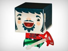 Dribbble - Papertoy by Daniel Bkopf