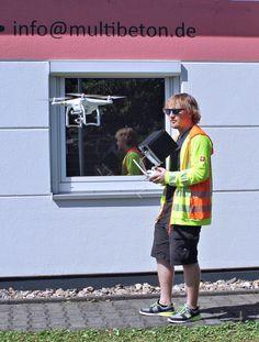 Video-Dreh mit Drohne: Markus schwebt schon etwas vor
