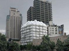 Concept Bubble Building, le bâtiment de demain de Shangaï ?