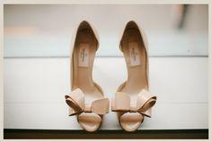 Zapatos de novia con lazos de Valentino