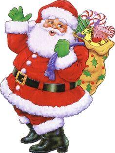 free vintage christmas clip art santa claus clipart free christmas graphics christmas graphics - Animated Christmas Clipart