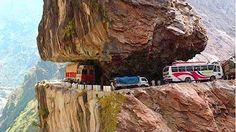 most dangerous road in the world - YouTube