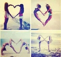 Image via We Heart It https://weheartit.com/entry/99430603/via/10207589 #beach #Best #bff #friend #girl #heart #love #sister #together