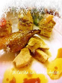 In Cucina con Mamma Agnese: Faraona all'Arancia con Crostini di Schizzotto al patè di olive verdi
