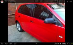 For sale VW Polo VIVO 2013 1.6 excellent condition, Red, mp3 radio, mag wheels, smash