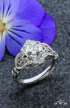 BEST of 2015 at #GreenLakeJewelry: #Heart Filigree detail makes this #EngagementRing design truly unique! #ArtistsAtWork - fun jewelry, women's jewellery online, jewelry auctions *sponsored https://www.pinterest.com/jewelry_yes/ https://www.pinterest.com/explore/jewellery/ https://www.pinterest.com/jewelry_yes/womens-jewelry/ https://www.lulus.com/categories/99_100/jewelry.html