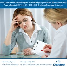 A CitiMed offers unique service for that patients is in-house counseling. CitiMedical's psychologists are board certified and experienced..for more info about us http://citimedny.com/