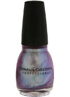 Nail of the Week: Sinful Colors Let Me Go. It's a duochrome that's a sheer lavender frost that shows either pale green or ultramarine, depending on the light. No chips or even tip wear that I can see four days in. I'm in love with this one.