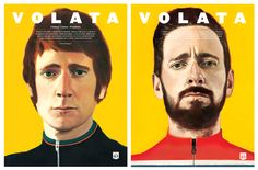 David de las Heras illustrated the covers for the 4th issue of Volata magazine. In this number Volata talks about the great Bradley Wiggins.