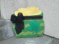 Hello good friends!   I'm sending a little luck to all of my faithful followers. Enjoy!         Pot of Gold Door Hanger   $22.00         ...