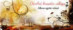DinArt kreatív világa – Alkoss együtt velem!