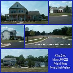 Walnut Creek by Potterhill Homes Lebanon Ohio New construction available. No model home on site. Click through for more details. Lebanon Ohio, Ohio Real Estate, Warren County, Walnut Creek, County Seat, Model Homes, New Construction, Community, Tours