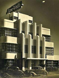 The Lane-Wells Company headquarters in Los Angeles, circa 1939