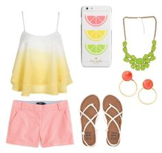 """""""Untitled #3"""" by gracief-9 on Polyvore featuring Kate Spade, J.Crew and Billabong"""