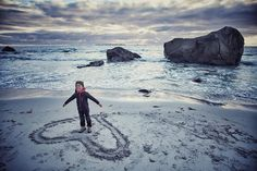 Traveling the world with the four year old son