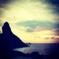 Morro do pico em Fernando de Noronha #beach #travell #noronha #paradise