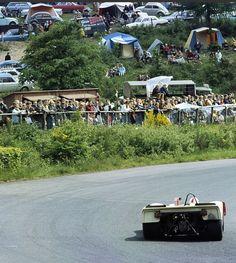 Mitter / Schutz, Porsche 908/2, 31st in the '69 Nurburgring 1000Km. Siffert/Redman won in a sister car (Schlegelmilch)...