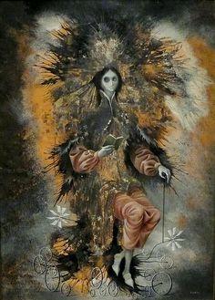 One of my very Favorites it is Mexican Surrealist Artist: Remedios Varo Art And Illustration, Salvador Dali, Surreal Art, Dark Art, Magritte, Fantasy Art, Modern Art, Cool Art, Art Pieces